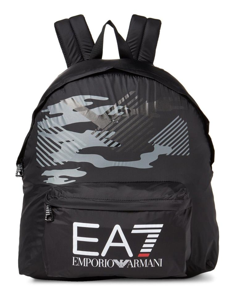 Emporio Armani Men s Ea7 Train Core Logo Sport Book Black Nylon ... af5231ffb1