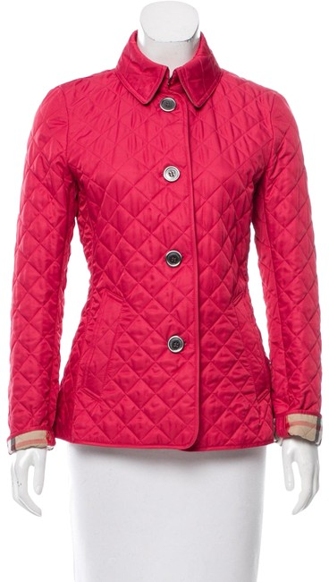 Item - Coral Lightweight Quilted Jacket Size 4 (S)