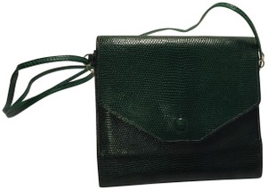 Hermès Lizard Pochette Vintage Clutch Shoulder Bag