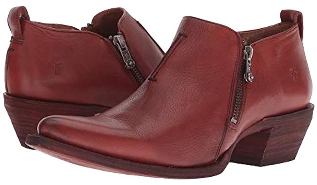 Item - Red Sacha Shootie Clay Boots/Booties Size US 9.5 Regular (M, B)