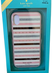 Kate Spade iPhone XR - NWT Kate Spade ' Jeweled Stripe ' COMOLD CASE