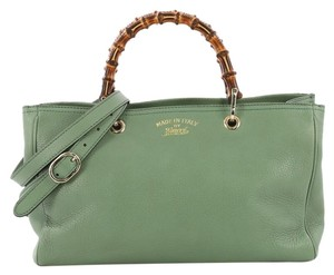 9bac026acd0d Gucci Leather Tote in green