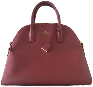 Kate Spade Satchel in Burgundy