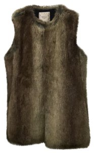 0ea6caaa Brown Faux Fur Vest