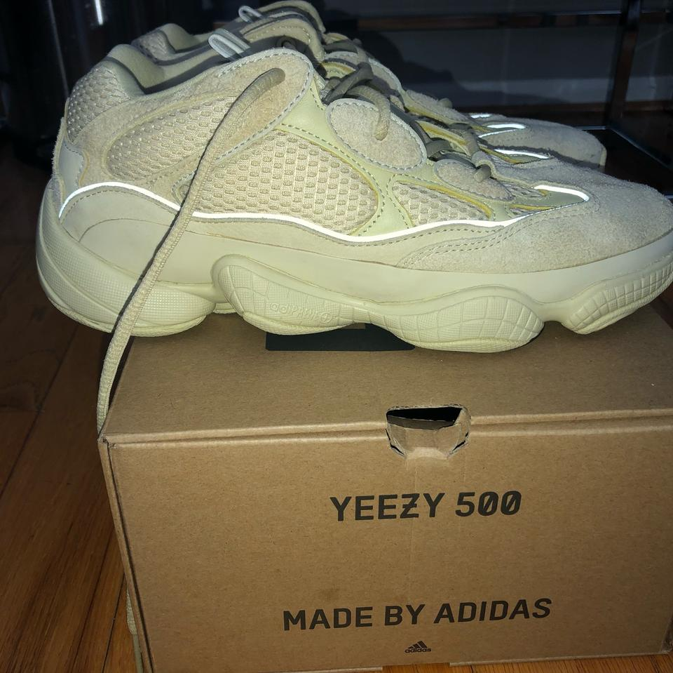 d1017913da22d adidas X Yeezy Yellow 500 Super Moon Sneakers Size US 10 Regular (M ...