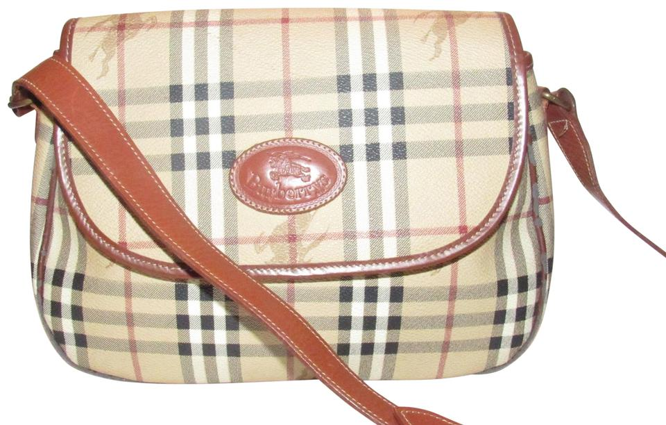 ae68ed816576 Burberry Body Shoulder Mint Condition Early Saddle Style Cross Body Bag  Image 0 ...
