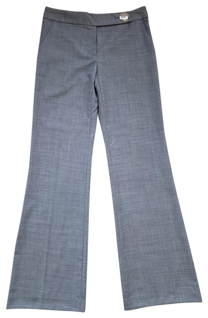 Item - Gray Mayhh Pearl Stretch Wool Trousers Pants Size 4 (S, 27)