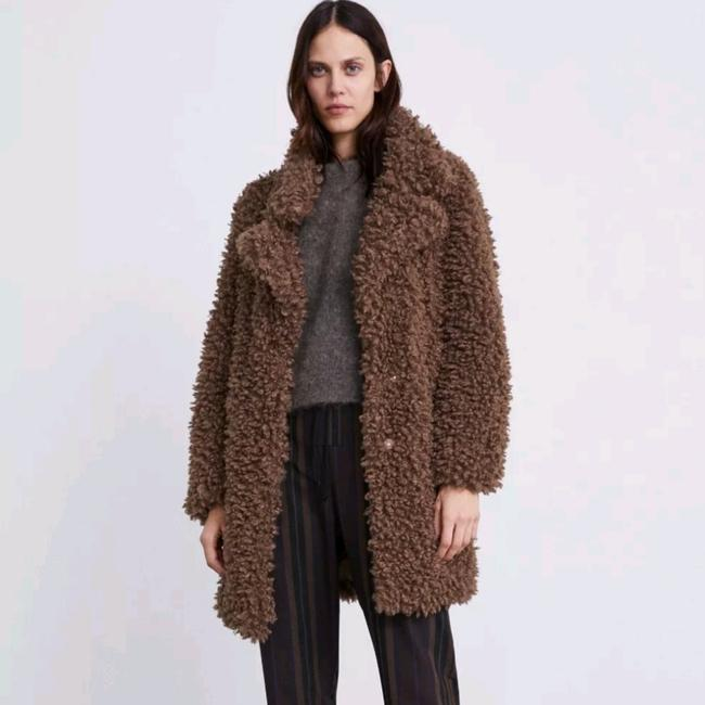 Item - Taupe Brown Soft Faux Coat Size 12 (L)