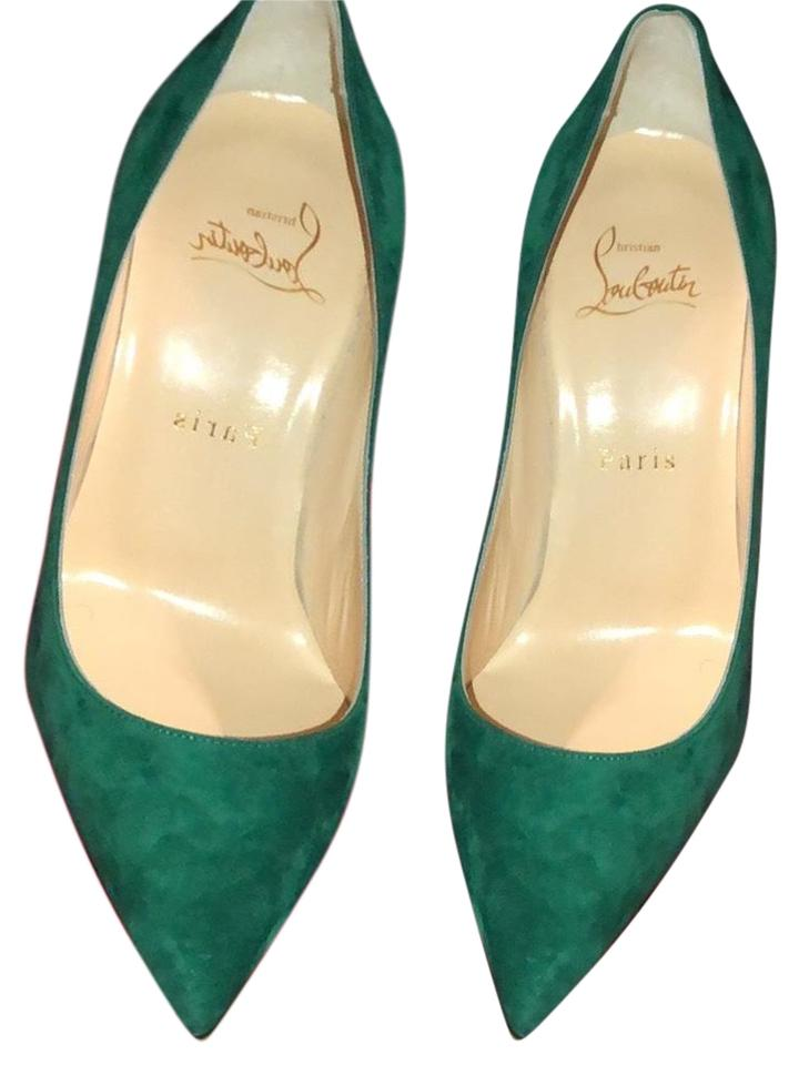 1487f724b6b Green Suede So Kate Pumps
