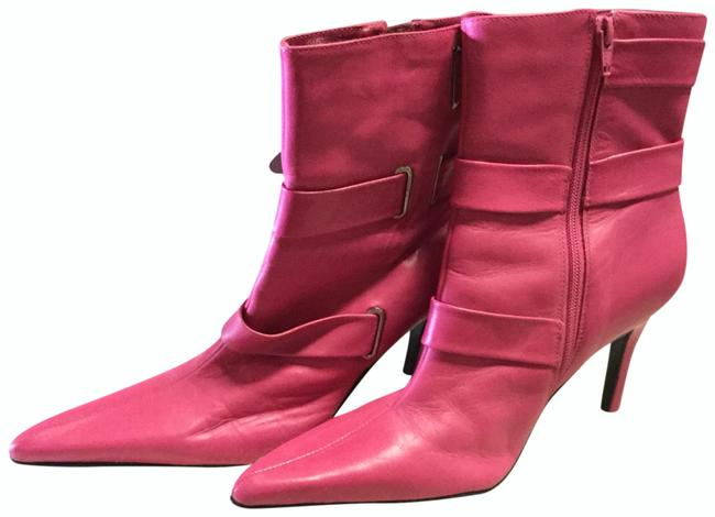 Item - Pink Fashion Ankle Boots/Booties Size US 8 Narrow (Aa, N)