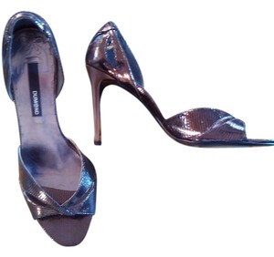 Dumond Pewter/Copper Metalic Pumps