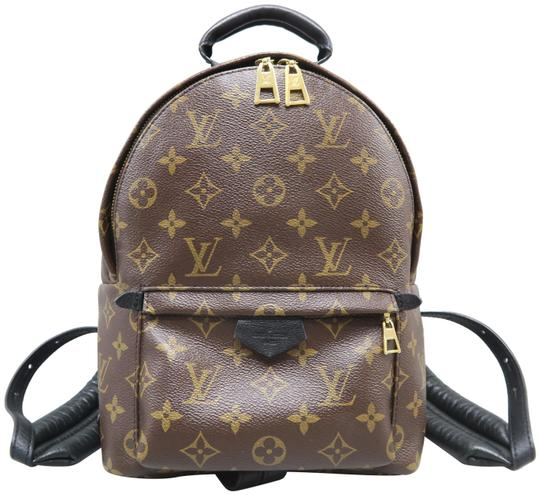 Preload https://img-static.tradesy.com/item/24734529/louis-vuitton-palm-springs-pm-brown-canvas-backpack-0-1-540-540.jpg