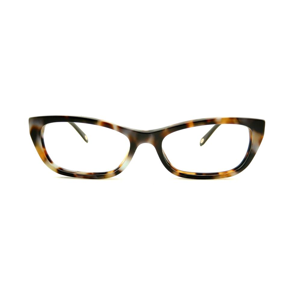 864959b4dea Tiffany   Co. Dark Havana Spotted Blue Tf2035 8124 50mm Rx Prescription Eyeglasses  Frames Only Italy