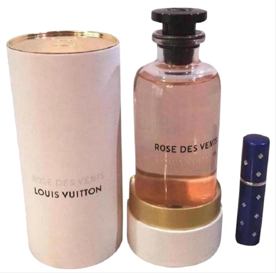 Louis Vuitton Blue Rose Des Vents Perfume 5ml Purse Travel