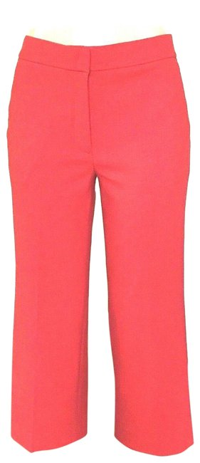 J.Crew Red Patio In Two-way Stretch Wool Pants Size 8 (M, 29, 30) J.Crew Red Patio In Two-way Stretch Wool Pants Size 8 (M, 29, 30) Image 1