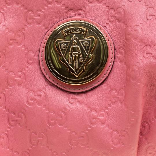 Gucci Leather Pink Clutch Image 5