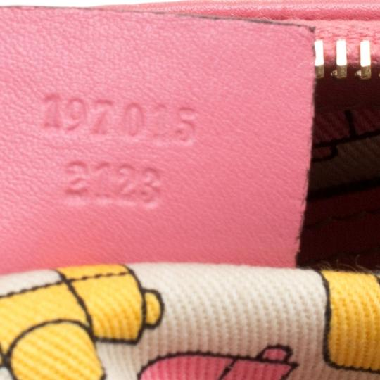 Gucci Leather Pink Clutch Image 6