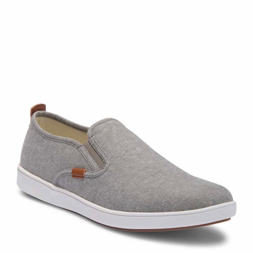 d42362e8ad8 Steve Madden Grey Fab Men's Glenly Slip-on Sneakers Size US 7.5 Regular (M,  B) 36% off retail