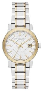 Burberry Burberry Check Two Tone Watch