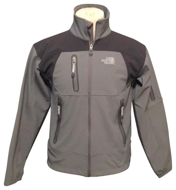 Item - Gray /Dark Gray Soft Shell Apex Jacket Activewear Size 4 (S)