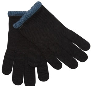 Coach Coach Block Knit Texting gloves black XSmall
