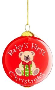 Pier 1 Imports Pier 1 Imports Li Bien Baby's First Christmas 2018 Ornament New in Box