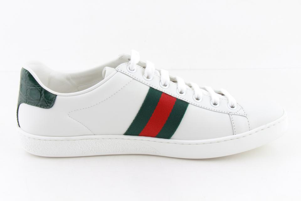 3f3d735de86 Gucci White Ace Embroidered Sneakers Sneakers Size US 9 Regular (M ...