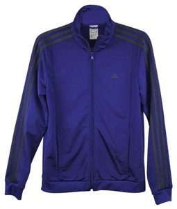 11e70ead2 adidas Striped Sleeves Round Collar Zip-Up Track Jacket