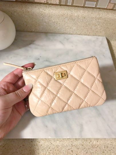 Chanel Chanel Mini O Case / Pouch in Pale pink with East West Hardware