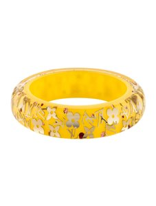 Louis Vuitton Louis Vuitton Bracelet Monogram Inclusion Yellow Bangle GM