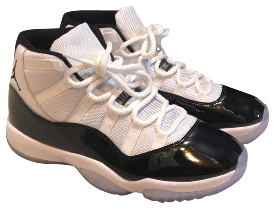 56df325106b08e Air Jordan Black White Concord Purple and Icy Blue 11 Size 10mens Sneakers