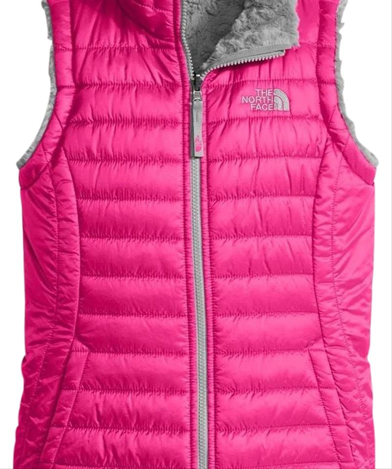 552103784fa9 The North Face Pink Reversible Mossbud Swirl Vest Size 0 (XS) - Tradesy