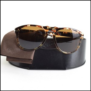 5be4f8ffa8 Persol Persol Brown Tortoise Pilot Sunglasses