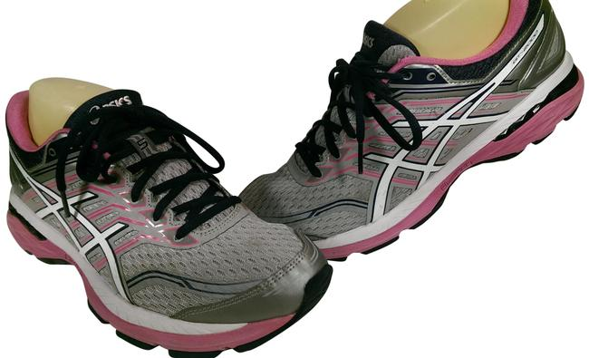 Item - Grey White Pink Gt-2000 5 Fluidride Woman's Jogger Trainer Running Sneakers Size US 10.5 Regular (M, B)