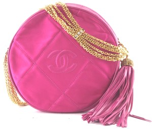 Chanel Cc Classic Round Bijoux Shoulder Bag