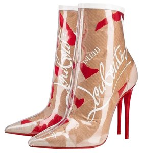 Christian Louboutin So Kate Loubi Kraft Trash Multicolor Boots