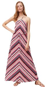 Maxi Dress by Ann Taylor LOFT Maxi Long Chevron Striped Summer