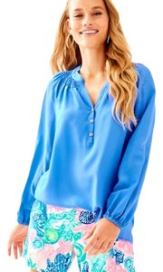 Lilly Pulitzer Top Ariel blue