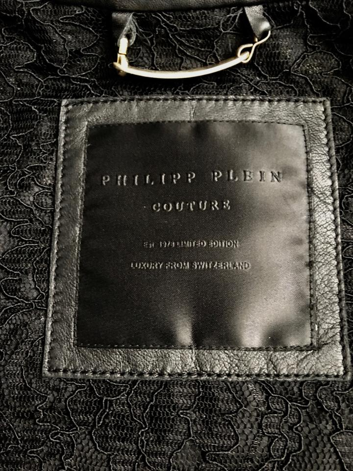 05d6d7b179 Philipp Plein Black Limited Edition Couture Jacket Size 4 (S) - Tradesy