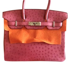 Hermès Birkin Birkin Limited Edition Satchel in fuschia pink