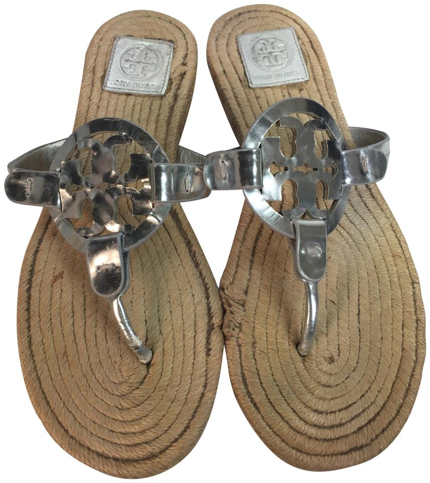 aea301c13aa8 Tory Burch New Fall New Miller Fall Millers New Fall grey Sandals Image 0  ...