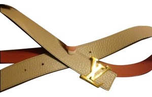 Louis Vuitton Louis Vuittion Leather Belt