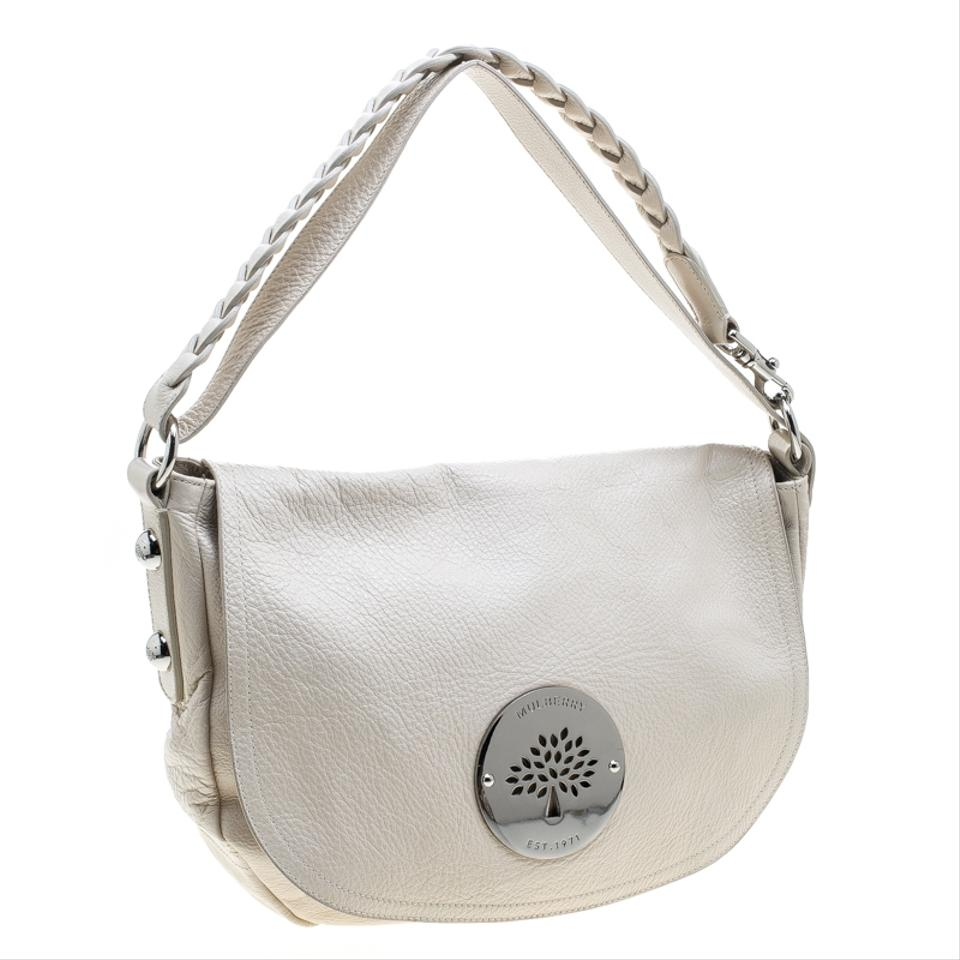 67eef350dc Mulberry Daria Cream Leather Hobo Bag - Tradesy