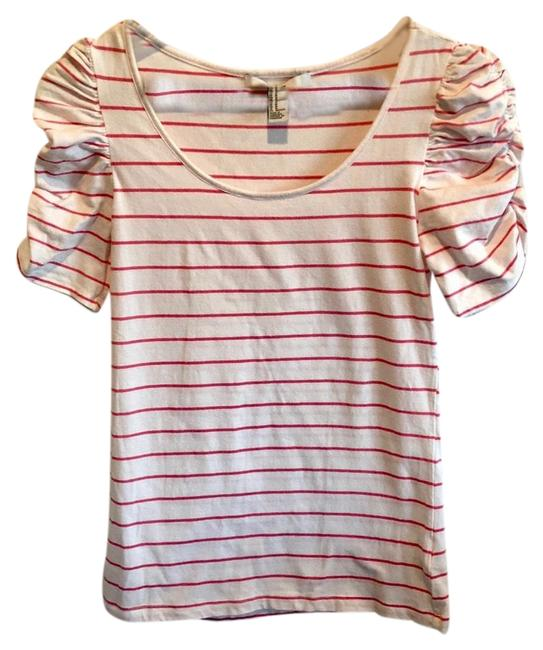 Forever 21 Striped Ruched Tee Shirt Size 8 (M) Forever 21 Striped Ruched Tee Shirt Size 8 (M) Image 1