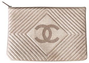 Chanel rose gold Clutch