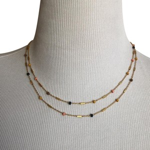 Madewell Delicate Layered Beaded