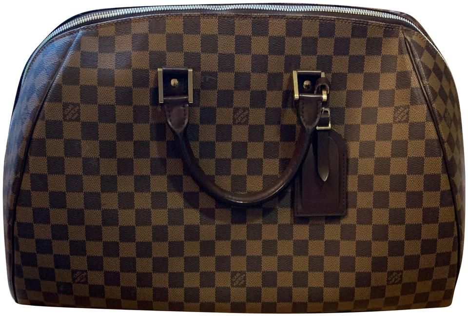 Louis Vuitton Ribera Brown Tan And Damier Ebene Coated Canvas