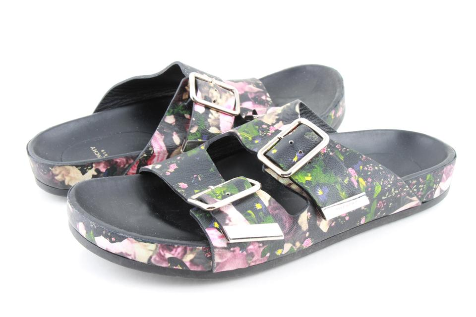 fe9f8879f0 Givenchy Multicolor Floral-print Nappa Leather Sandals Size US 7.5 ...