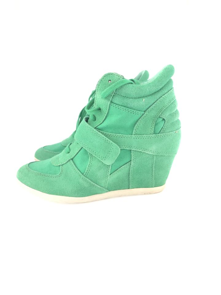 d22a9c4499a Ash Green Bowie Wedge Sneakers Size EU 38 (Approx. US 8) Regular (M ...