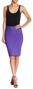 Romeo & Juliet Couture Pencil Bandage Stretch Tight Skirt Ultra Violet